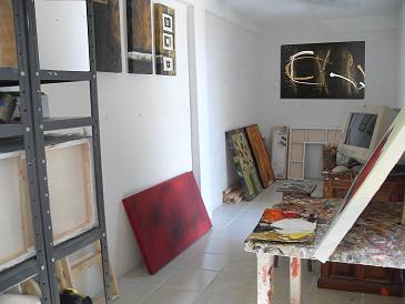 Interior taller cuadros dekorarte