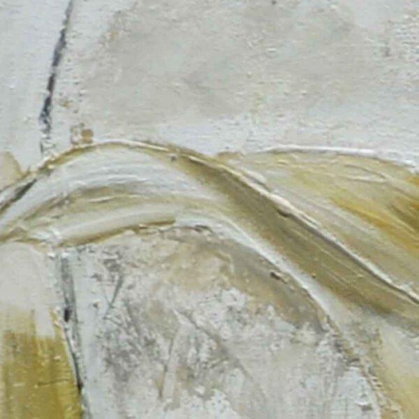 cuadro alcatraces detalle de la pintura