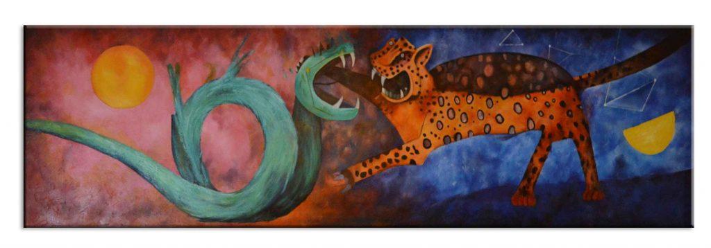 réplica del cuadro dualidad de rufino tamayo