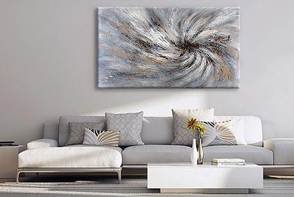 cuadros decorativos para sala marca dekorarte fabricado en tecnica mixta y acrílico pintados a mano