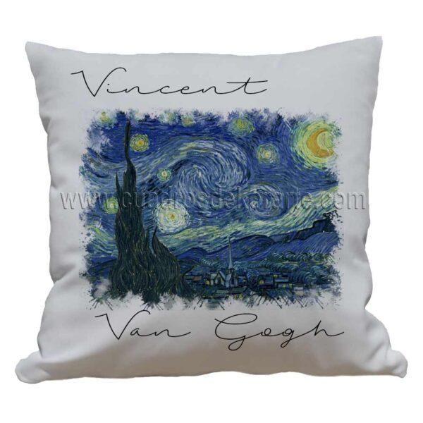 cojines decorativos Vincent van Gogh la noche estrellada impresos en sublimación