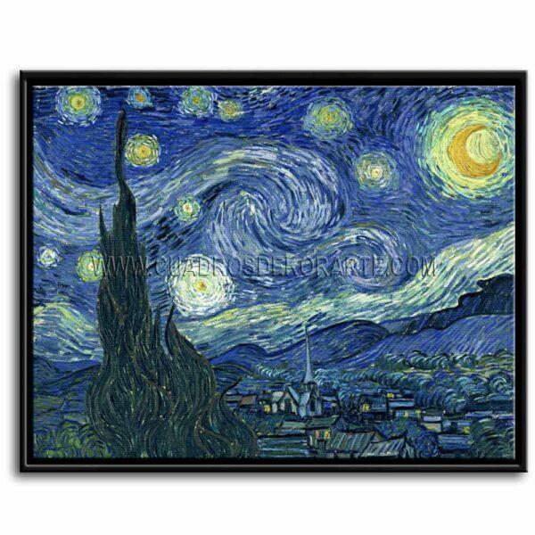 Cuadro La noche estrellada de Vincent Van Gogh impresión digital en canvas