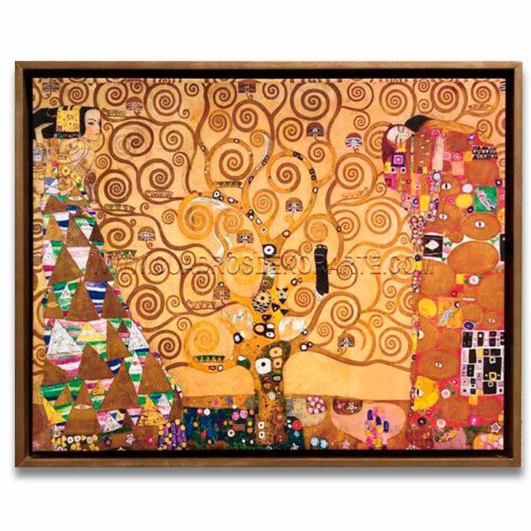 Cuadro el árbol de la vida de Gustav Klimt impresión digital en canvas